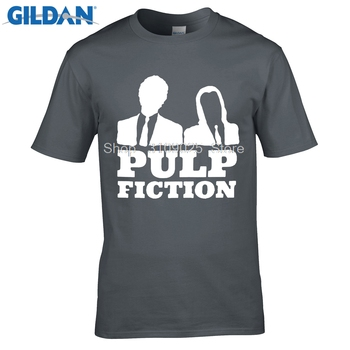 GILDAN komik t shirt PULP FICTION SO SERIOUS QUENTIN FILM T Shirt Yaz Slim Fit John Travolta KULT Man Tees
