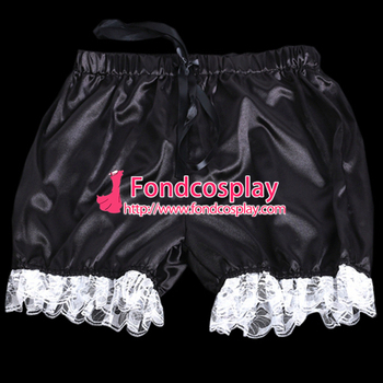 Sissy maid saten bloomers cosplay kostüm Tailor-made [G2060]