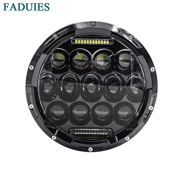 "FADUIES 7 Inç Motosiklet Led far 75 W Daymaker Projektör LED Far Montaj Için Harley Motosiklet 7 ""Led headlmap"