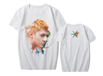 New EXO Regular four album the war Concert CHANYEOL SEHUN The Same summer Short Sleeve Tshirt