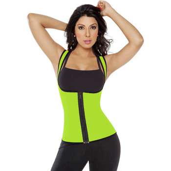 Lady wear bel cincher body shaper underwear fitness bel eğitmen ultra ter yelek l42659-4