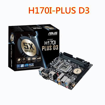 Asus H170I-PLUS D3 otantik M.2 HD 4 K WIFI 1151 pin