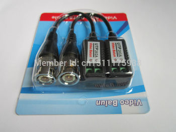 Kaliteli Ucuz geliştirilmiş Video Balun Twisted BNC CCTV Video Balun pasif Vericiler UTP Balun BNC Cat5 UTP CCTV Video Balun