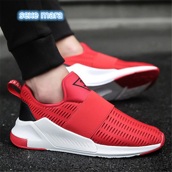 Mens Running Shoes For men Outdoor Comfortable red black Men Sneakers Breathable Sport Shoes woman Jogging Walking