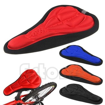 2017 MTB Cycling EBA 3D Seat Cover Bicycle Bike Race Saddle Cushion Soft Pad Case
