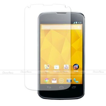 5 PCS CLEAR LCD SCREEN PROTECTOR DISPLAY FILM GUARD FOR LG GOOGLE LG NEXUS 4 E960